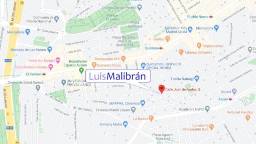 Mapa Estudio Malibrán